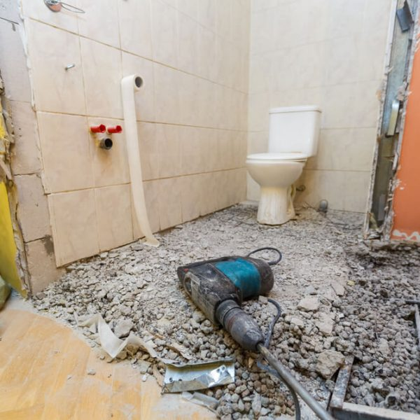Rekonštrukcia WC v paneláku či dome Bratislava