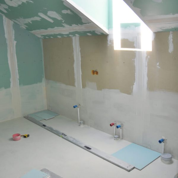 Prerábka kúpeľne sadrokartónom Bratislava Moja Rekonštrukcia